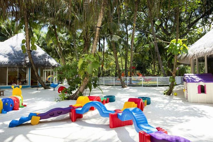 пляжные виллы Мальдив для отдыха с детьми 25