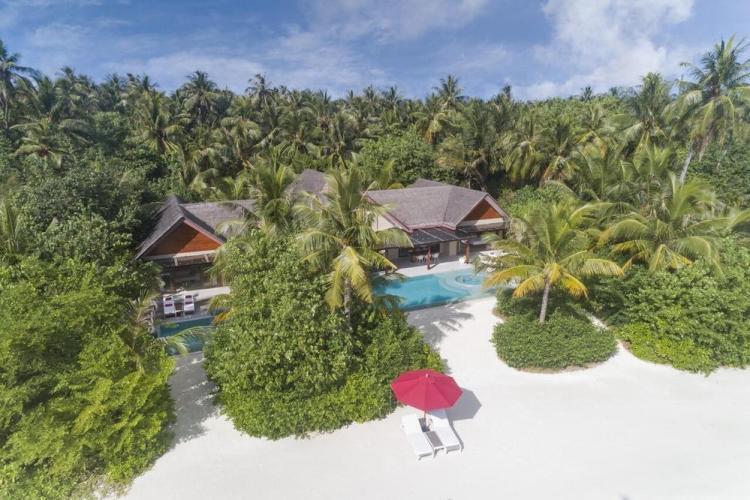 пляжные виллы Мальдив для отдыха с детьми 23