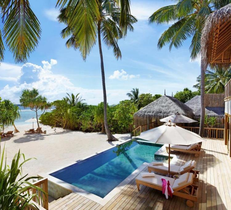 пляжные виллы Мальдив для отдыха с детьми 30