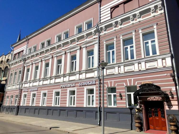отель пушкин в центре москвы
