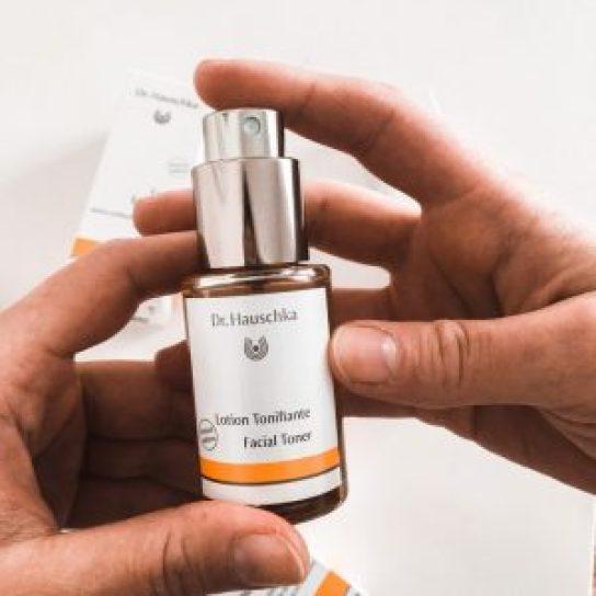 lotion tonifiante routine peaux sensibles Dr Hauschka