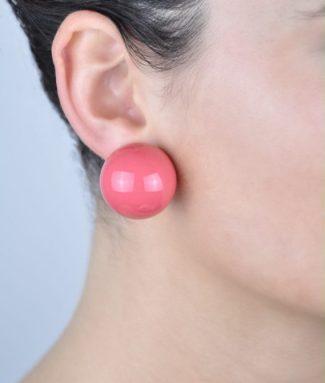 boucles d'oreilles boule
