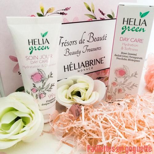 soin visage hydratation Héliagreen
