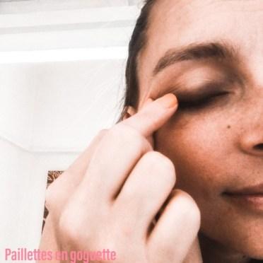 maquillage au doigt