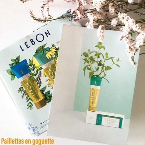dentifrices Lebon
