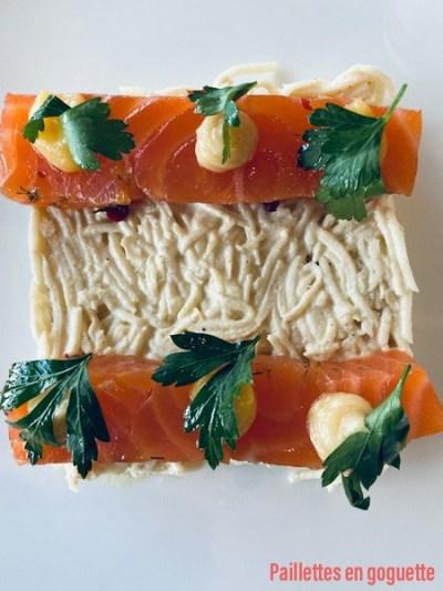gravlax celeri