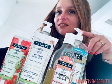 cosmétiques bio pour toute la famille Coslys