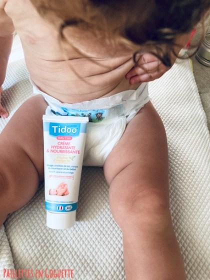 crème hydratante et nourrissante Tidoo