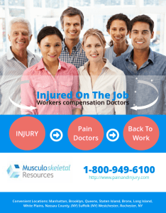 NY Certified to Treat Injured Iron Workers by the NYS Workers Comp Board