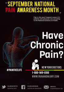 September is Pain Awareness Month.