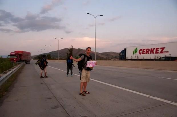 Autostop Caucaso