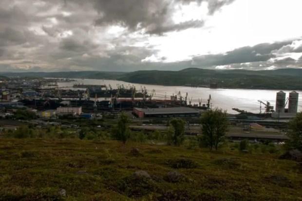 murmansk porto viaggio russia