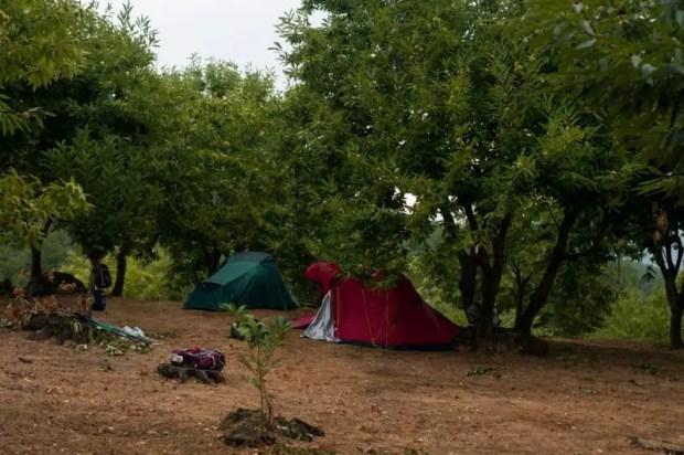 via degli dei campeggio libero monzuno