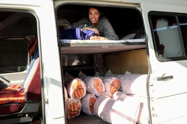furgone merci in kirghizistan osh bishkek