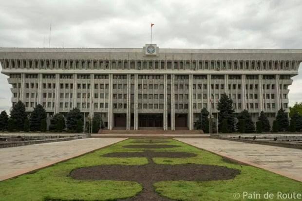 cosa vedere a bishkek kirghizistan parlamento