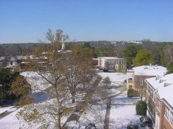 An Aerial view of Paine College...