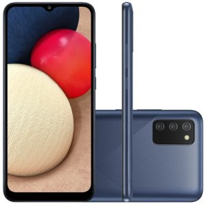 """Smartphone Samsung Galaxy A02s Câmera Tripla De Tela Infinita De 6.5"""""""