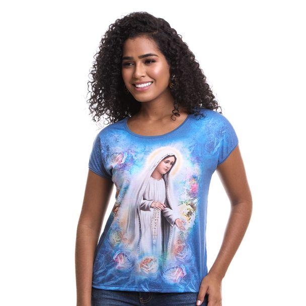 Blusa Nossa Senhora de Fátima DV8046 P