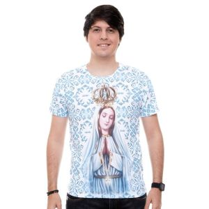 Camiseta Nossa Senhora de Fátima DV9221 M