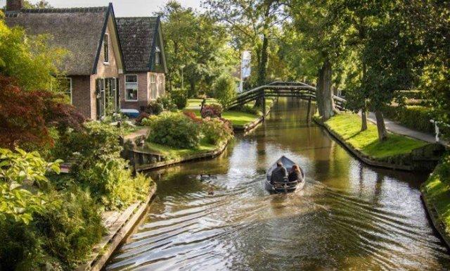 Conheça cidade na Holanda que não tem carros nem estrada