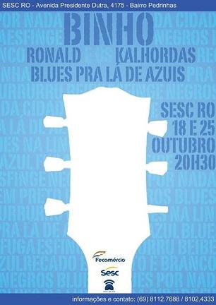 Blues para lá de Azuis terá sua segunda edição essa semana