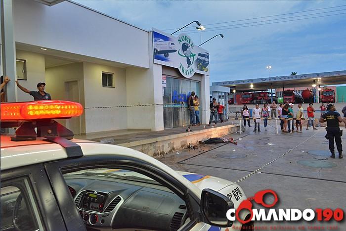 Jovem é executado à tiros em Ji-Paraná