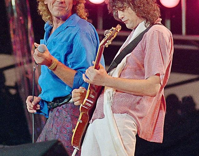 Robert Plant afirma ter encontrado músicas inéditas do Led Zeppelin