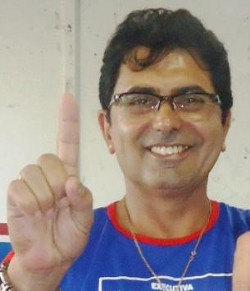 Manoel Rodrigues da Silva é presidente do Sintero