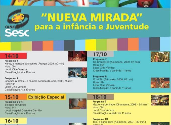 Sesc realiza mostra internacional de cinema para crianças