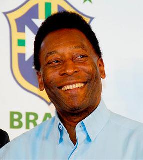 Filme americano sobre Pelé terá Rodrigo Santoro e Seu Jorge