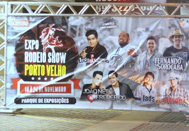 Expo Rodeio Show já é visto como um dos maiores eventos de Porto Velho