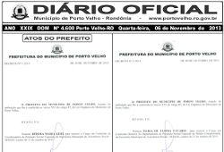 Diário Oficial do Município 4.604 – 12/11/2013
