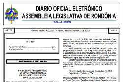 DO-e-ALE/RO – Edição n° 175 – 12/11/2013