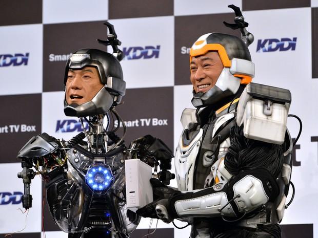 Japoneses criam 'sósia' robô de ator