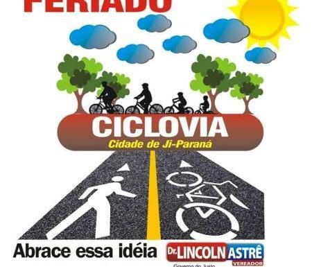 Passeio ciclístico será opção de saúde e lazer nesta sexta-feira em Ji-Paraná