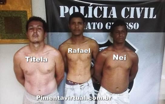 Presos em Cuiabá responsáveis pelo assassinato de jovem de Pimenta Bueno
