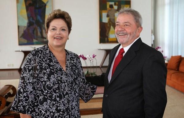 Lula será candidato em 2018, diz Dilma em entrevista a revista francesa