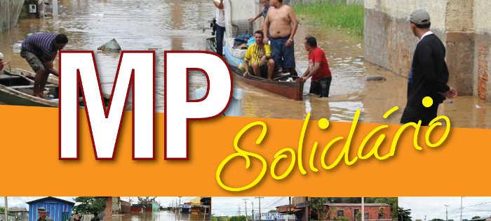 MP arrecada donativos para desabrigados das enchentes