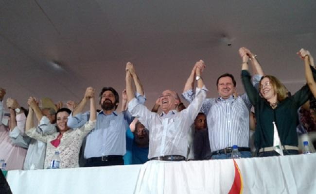 Confúcio confirma candidatura à reeleição