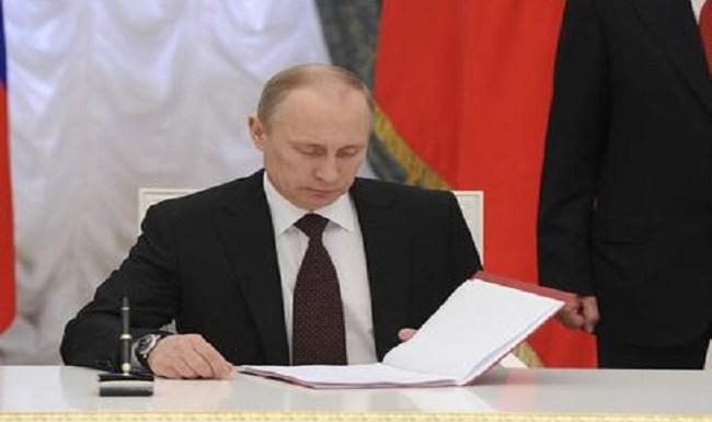 Putin diz sanções políticas impedem união contra terrorismo