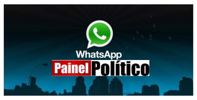 Painel Político tem grupos de notícias no Whatsapp