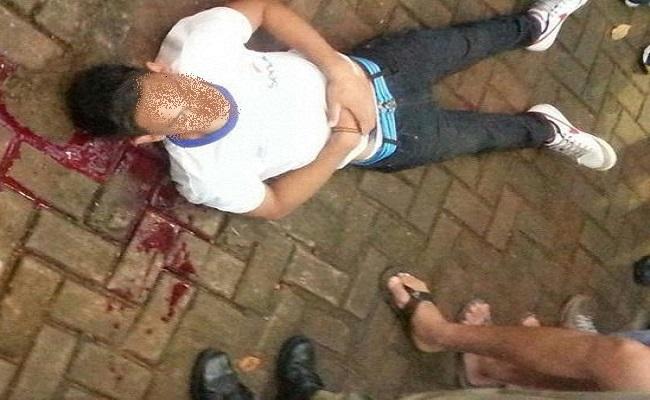 Estudante é baleado na praça Aluízio Ferreira
