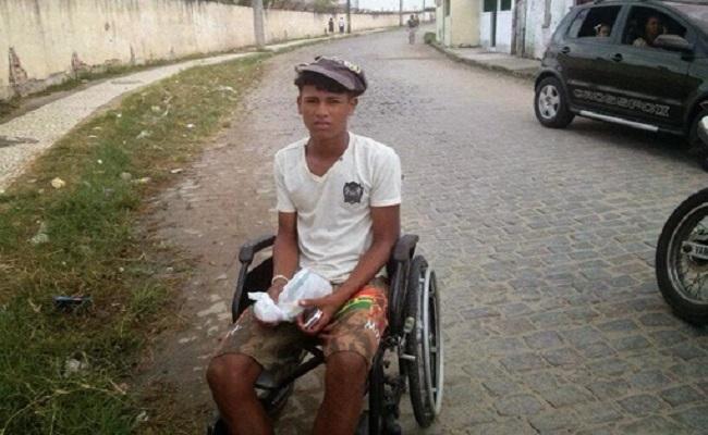 Traficante se disfarçava de cadeirante na Bahia