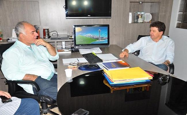 Cassol se reúne com Mauro Nazif para discutir formação de aliança