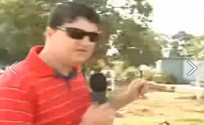 "Repórter entrevista ""testemunha muda"" e vira piada na web"