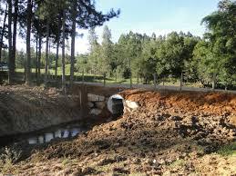 Imagem ilustrativa - ponte de tubos armcos
