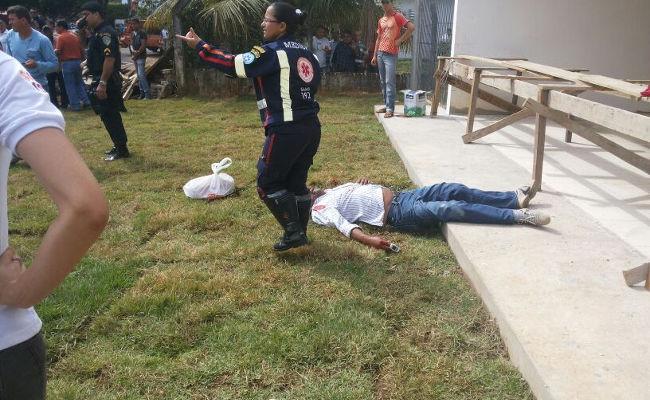 Irmão de ex-senador Amorim é executado no centro de Ariquemes