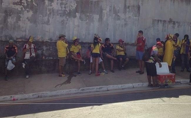 Cuiabá se despede da Copa com festa, cambistas e recorde de ações policiais
