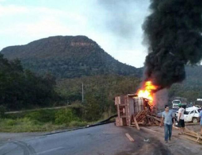 Rondoniense morre em grave acidente em cáceres