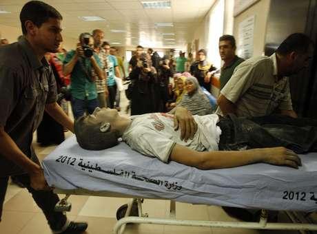 Três crianças morrem em ataques israelenses em Gaza